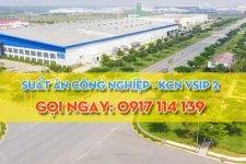 Cung cấp suất ăn công nghiệp ở KCN Vsip 2