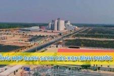 Khu công nghiệp Bình Phước [ Tổng hợp danh sách ]