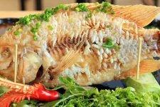 Cách Làm Cá Điêu Hồng Hấp Cuốn Bánh Tráng