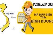 Mã bưu điện Bình Dương