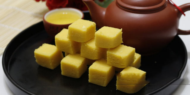 Đặc sản Hải Dương - Bánh đậu xanh